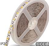 NuNus LED Stripe mit 60 LEDs RGB (Meterware) LED Streifen Lichtband, Licht-Leiste, Lichtschlauch 12 Volt, 14,4 Watt, LED Type SMD5050