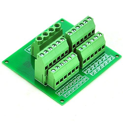 Electronics-Salon Panel Mount 12 Position Power Distribution Module Board. 12 Position Panel