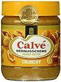 Calve Erdnusscreme Crunchy, 12er Pack (12 x 350 g)