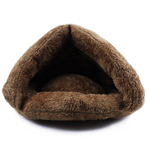 Komia Kuschelhöhle für Katze Warmer Plüsch Katzenhöhle - 3