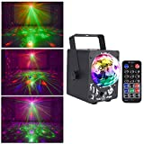 Disco Bühne Lichter Ball LED RGB Disco Ball 7 Lichtfarben, Musik aktiviert, Stroboskoplichter for Party Kinder Geburtstag Weihnachten Hochzeit Zuhause Karaoke Innendekoration (mit Fernbedienung) -716