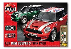 Airfix A50126 Mini Cooper S Twin Pack Gift Set.