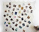 Hamigo Photo Display DIY cornici Collage Set con Ganci per Appendere Foto Stampe Artwork Come Wall Décor