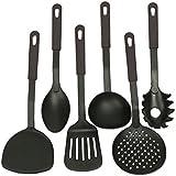 Gion 6 Piece Nylon Non-Stick Kitchen Cooking Tool Set Nylon Kitchen Cookware Set 6-p-Piece Kitchen Accessories