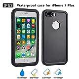 Wasserdichte hülle für iPhone 7plus Waterproof Case, Staubdichte, Stoßfeste, Schutzhülle für...