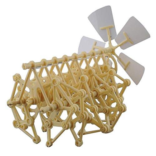 Butterme 1 X Windkraft Animaris Ordis Parvus Strandbeest Modell Roboter-DIY Gehende Wanderer Mini Strandbeest Versammlungs Modell Kids Roboter Spielzeug