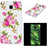 Qiaogle Téléphone Coque - Soft TPU Silicone Housse Coque Etui Case Cover pour Samsung Galaxy A5 (2016) SM-A510 (5.2 Pouce) - XS28 / Rose