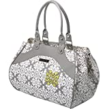 Petunia Pickle Bottom Wistful Weekender - Bolso multiuso para mamá, color gris