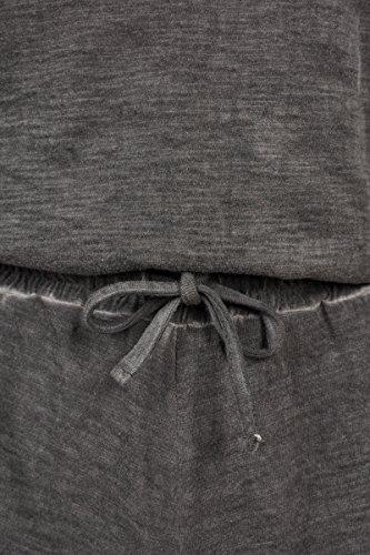 Urban Classics Damen Jumpsuit Ladies Cold Dye Short, Grau (Grey 00111), Large (Herstellergröße: L) - 3