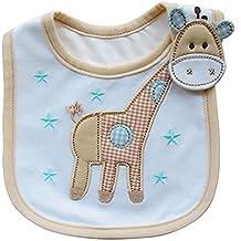 Lovely Cute patrón de dibujos animados Toddler Bebé Impermeable Saliva Toalla bebé babero