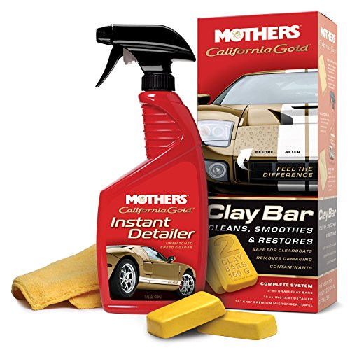 MOTHERS 07240 California Gold Clay Bar System - Reinigungsknete