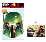 Boba Fett Official Star Wars Single Karte Partei Gesichtsmasken (Maske) Enthält 6X4 (15X10Cm) starfoto