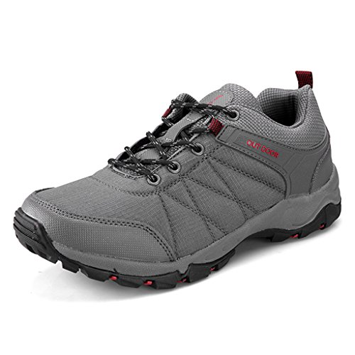 ZanYeing Herren Wanderschuhe Traillaufschuhe Ultra-light Sneakers laufschuhe Sportschuhe Anti-Rutsche OutdoorSchuhe Trekking 40-46