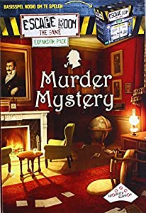Identity Games 07277 Escape Game-Pack Extension-Murder Mystery