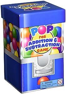 Learning Resources- Juego de sumas y restas for Addition & Substraction de la Gama Pop Games, Color (LER8441)