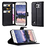 Samsung Galaxy S6 ACTIVE Hülle in SCHWARZ von Cadorabo -