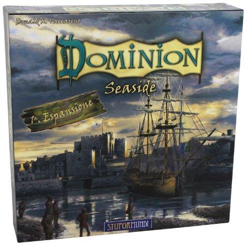 Giochi Uniti Board Game Dominion Seaside [Italian Language] by Giochi Uniti