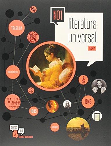 Literatura Universal 1º Bachillerato (Somoslink) - 9788426399649