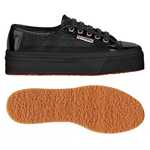 Superga Unisex Erwachsene 2790 Netw Platform sneakers Black