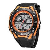 Relojes Hombre Elegantes,un Reloj literario Digital Multifuncional para jóvenes Relojes Digitales a Prueba de Agua Reloj Deportivo para Nadar al Aire Libre @ 4