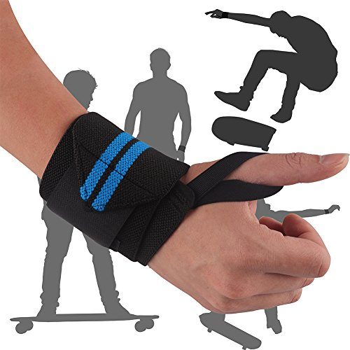Vikaster-weight-lifting-wrist-support-wrapsFor-FitnessStrength-TrainingCross-TrainingOlympic-weightlifting18-x-32
