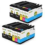 Gohepi 950XL/951XL Compatibile per Cartucce HP 950XL 951XL HP Officejet Pro 8600 8610 8620 8100 276dw 251dw 8630 8640 8660 8615 8625 - 4 Nero/2 Ciano/2 Magenta/2 Giallo Confezione da 10