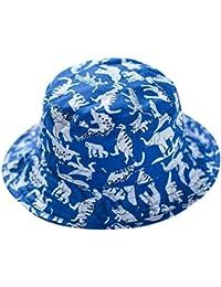 Happy Cherry Bucket Hat Sombrero Infantil de Tipo Pescador Unisex Gorra de Algodón  para Bebés Niños Niñas Verano Primavera… d0903ba6fdf