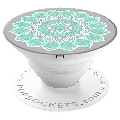 *PopSockets: Ausziehbarer Sockel und Griff für Smartphones und Tablets – Peace Mandala Tiffany*
