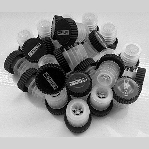 DiVino Marketing - Confezione N° 50 Tappi Dosatore Aeratore Universale per Bottiglie Standard da 0,75 e Magnum da 1,5 Lt. -...