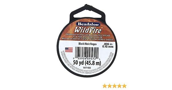45,8 m 02 weiss 0,15 mm Wildfire Filo per affilatura