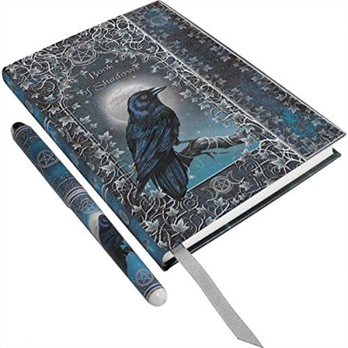 ittelalter Schattenbuch Rabe Journal Tagebuch Raven (Der Rabe Kostüm)