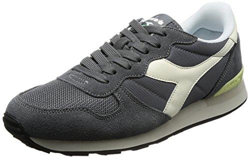 Diadora 501.159886, scarpe sportive basse uomo, grigio (steel grey/whisper white), 40.5 eu
