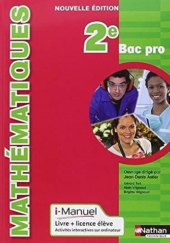 Mathématiques - 2e Bac
