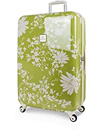 SuitSuit Lightweight Spinner Suitcases Pistachio Daisies