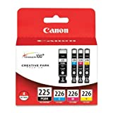 2 X Canon PGI-225 BK/ CLI-226 4530B008 C,M,Y 4 Pack Value Pack in Retail Packaging Amazon Rs. 15070.00