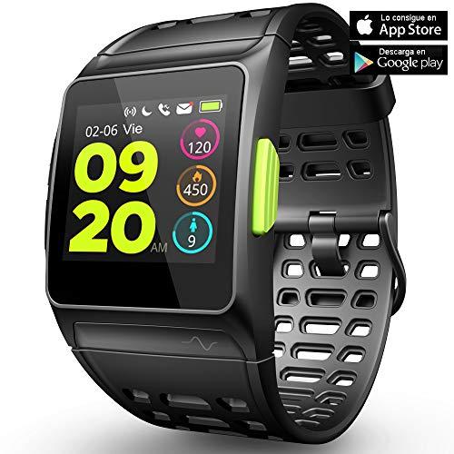 Fitness Tracker GPS reloj correr monitor ritmo cardíaco