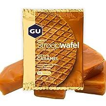 GU Energy Gofre de Caramelo Salado - Paquete de 16 x 32 gr - Total: