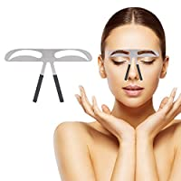 Eyebrow Ruler, Professional Eyebrow Measure Balance Extension Ruler Meteor Eyebrow Shape Stencil Make Up Beuaty Accessory Tool