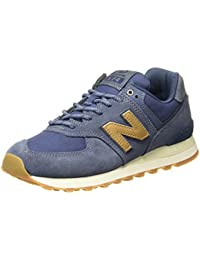 New Balance Women's 574 Blue (Blue) Sneakers - 6 UK/India (39 EU)(8 US)(WL574CLI)