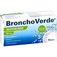 Preisvergleich für BRONCHOVERDE Hustenlöser 50 mg Brausetabletten 10 St Brausetabletten