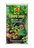 COMPO SANA Anzucht- und Kräutererde 5