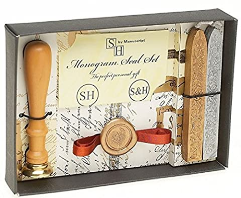 Personalized Two Initials Monogram Wax Seal Set