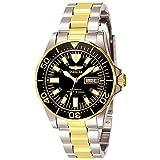 Die besten Invicta von 2 Töne - Invicta Signature Herren-Armbanduhr 40mm Zwei Ton Automatik 7045 Bewertungen
