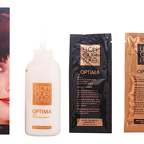 Llongueras LLONGUERAS OPTIMA hair colour #5.66-deep intense red