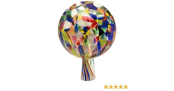 VAL Voralpenland Boules en Verre Multicolore /Ø 15 cm