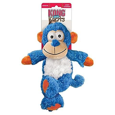 Kong Hundestpielzeug, quietschend, Affe