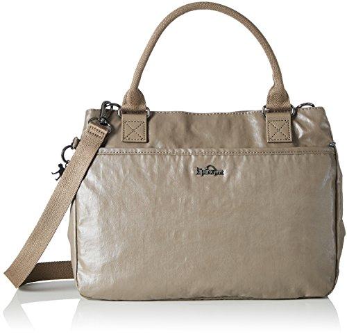 Kipling - Caralisa, Bolsos maletín Mujer, Braun Lacquer