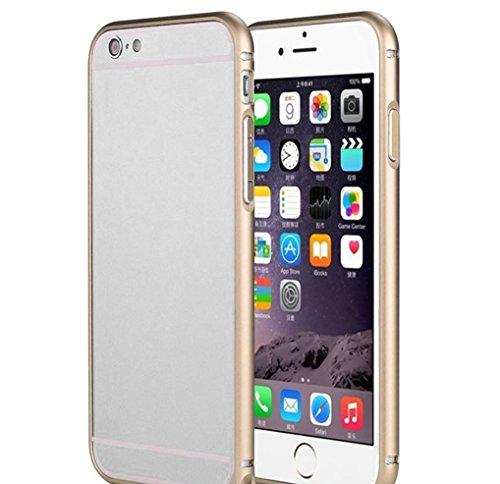 iAccessorize Circular Arc Shape Metal Bumper Case For Apple iPhone 6 (Gold)
