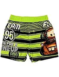 """Disney Cars Mater """"Team 95 Time For A Tune-Up"""" Boys Swim Trunks (4t)"""