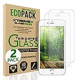 Für iPhone 5 5s SE (2 Stück) Panzerglas Displayschutzfolie, 9 Härte, Aniti-Kratzen, Anti-Öl, Anti- Bläschen,Handy Schutzglas, 3D Touch kompatibel